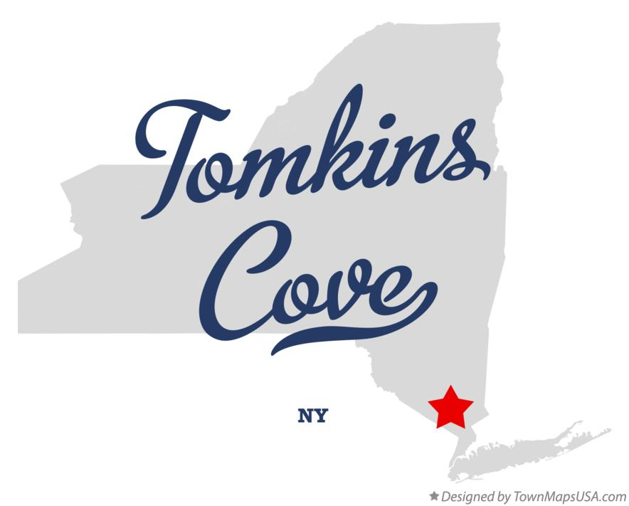 Map of Tomkins Cove New York NY