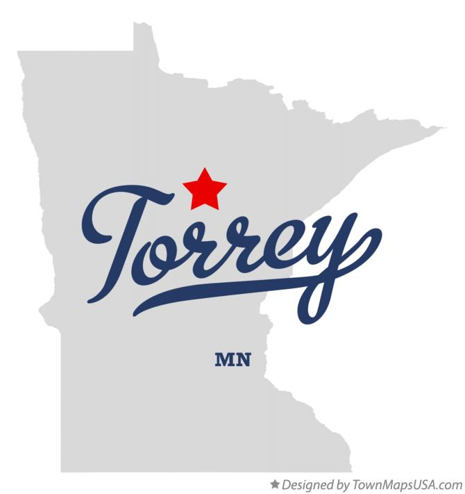 Map of Torrey Minnesota MN