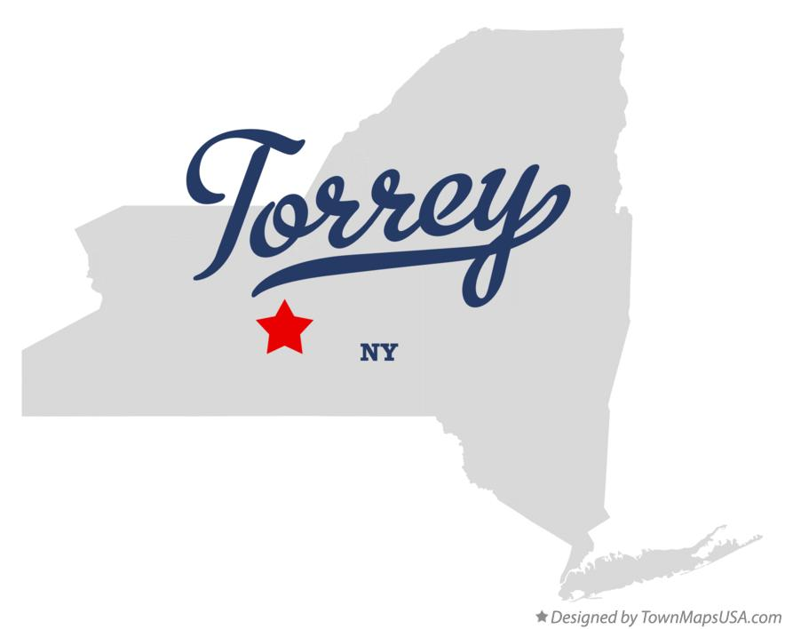 Map of Torrey New York NY