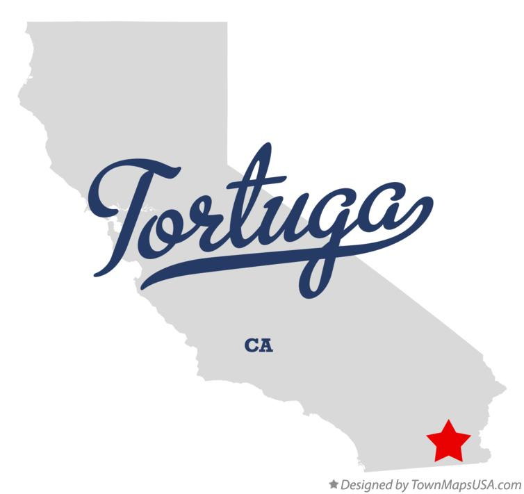 Map of Tortuga California CA