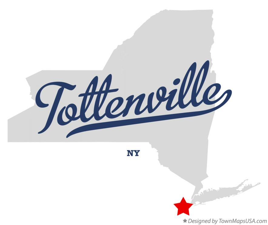 Map of Tottenville New York NY