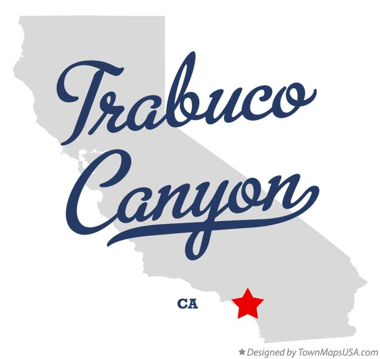 Map of Trabuco Canyon California CA