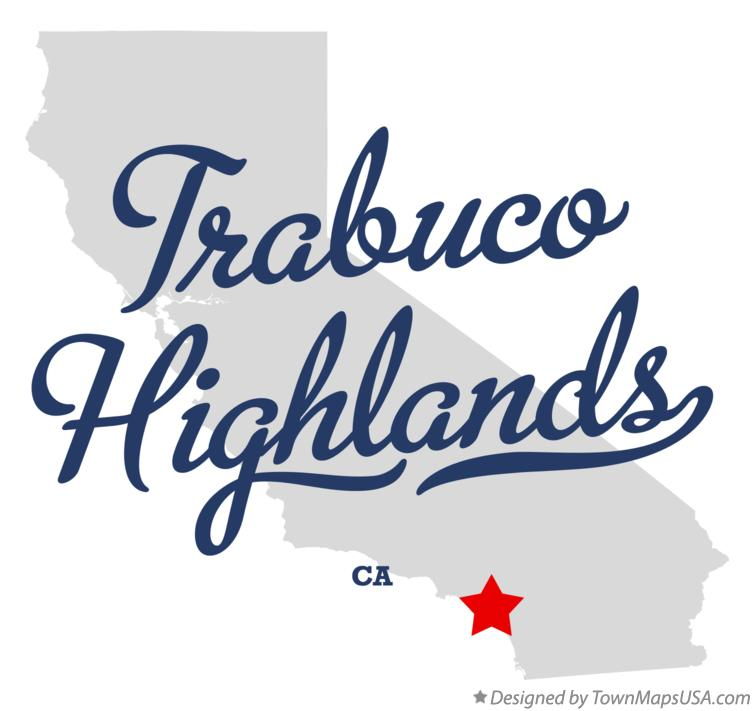 Map of Trabuco Highlands California CA