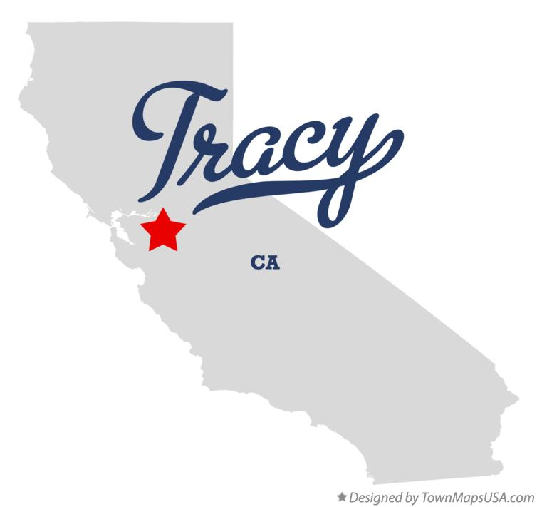 Map Of Tracy Ca California