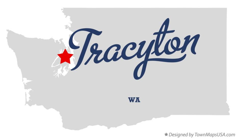 Map of Tracyton Washington WA
