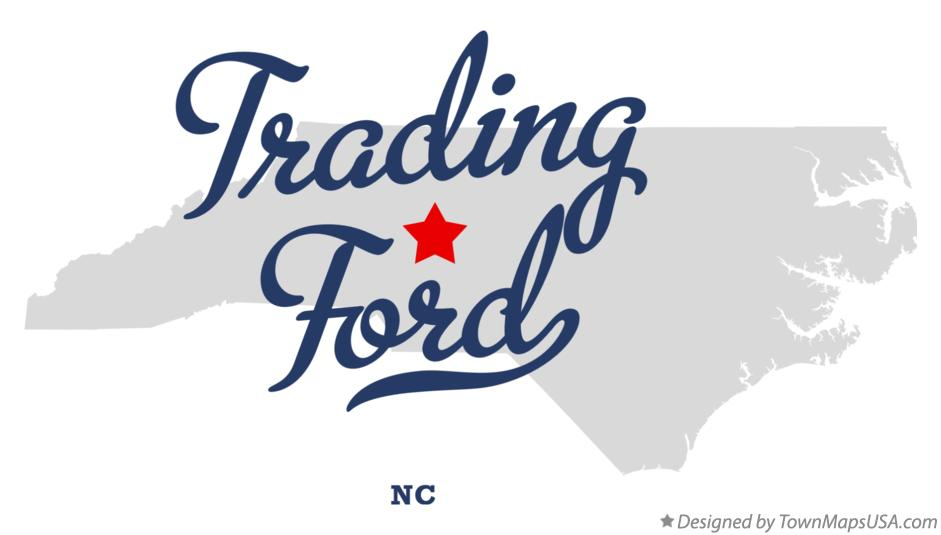 Map of Trading Ford North Carolina NC