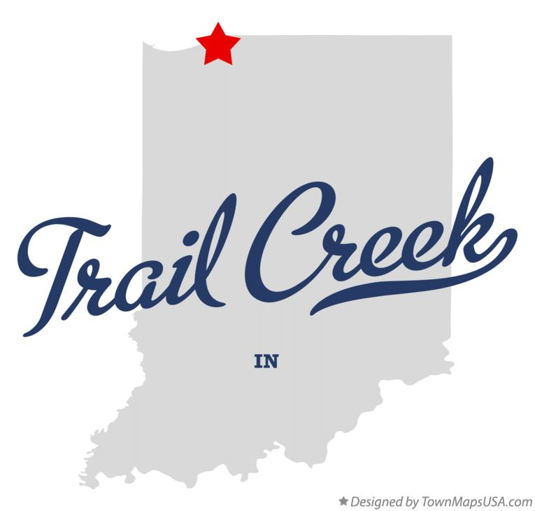 Map of Trail Creek Indiana IN