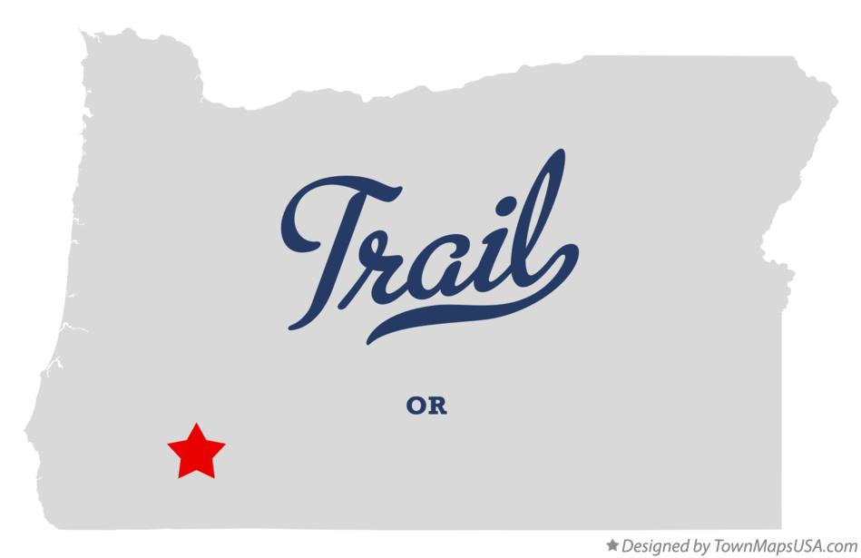 Map of Trail Oregon OR