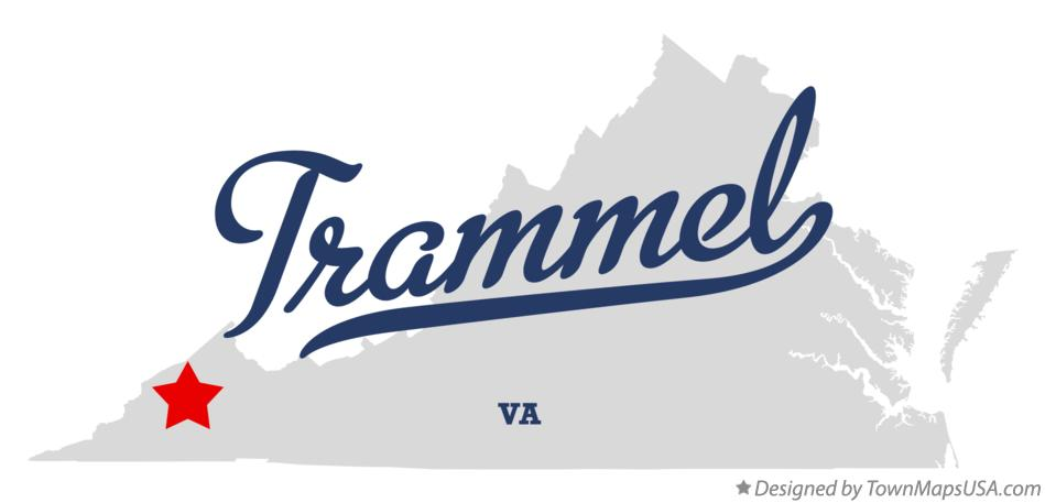 Map of Trammel Virginia VA