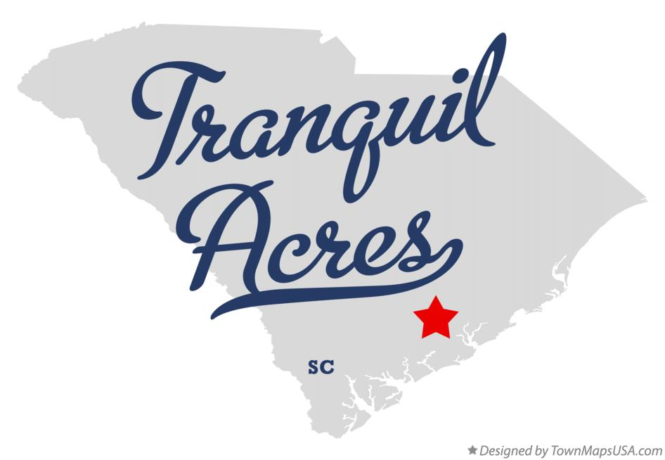 Map of Tranquil Acres South Carolina SC