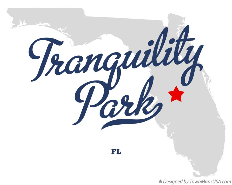 Map of Tranquility Park Florida FL