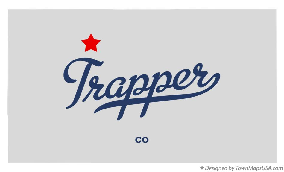 Map of Trapper Colorado CO