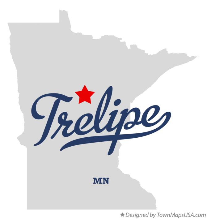 Map of Trelipe Minnesota MN