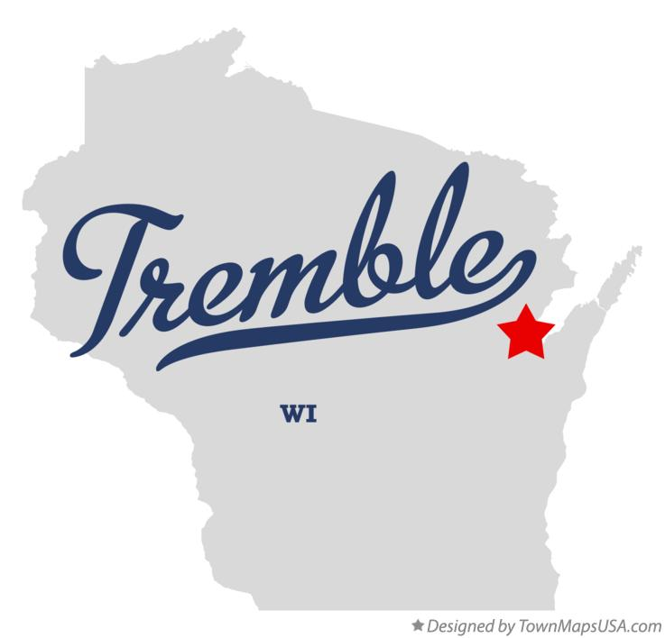 Map of Tremble Wisconsin WI