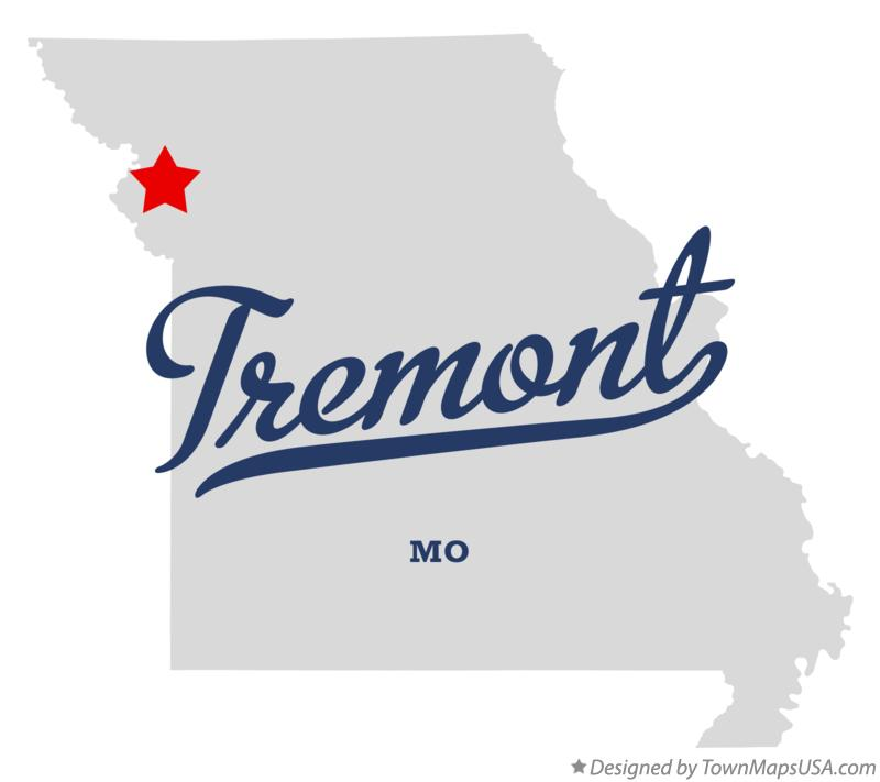 Map of Tremont Missouri MO