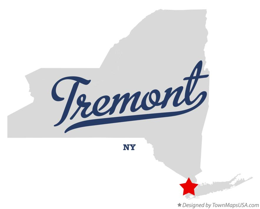 Map of Tremont New York NY