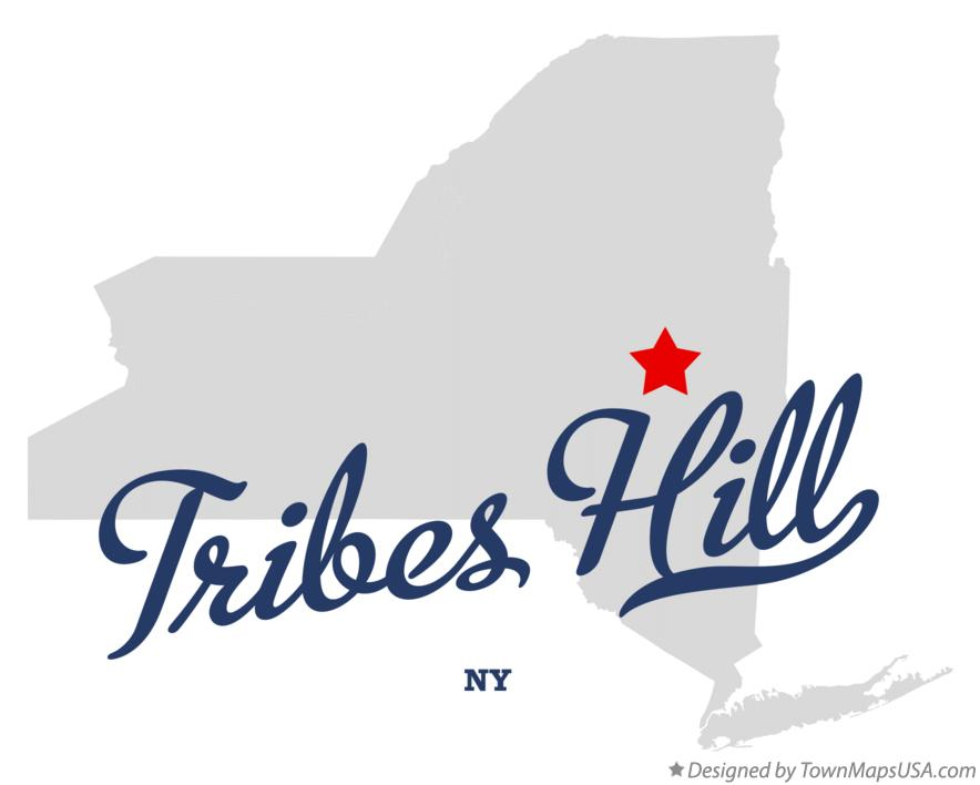 Map of Tribes Hill New York NY