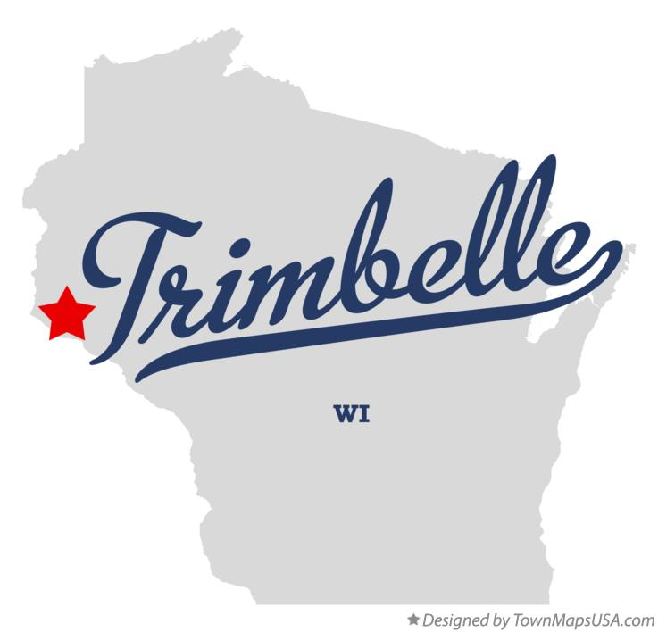 Map of Trimbelle Wisconsin WI