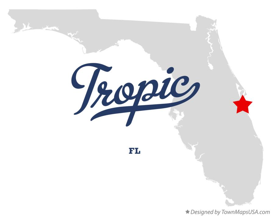 Map of Tropic Florida FL
