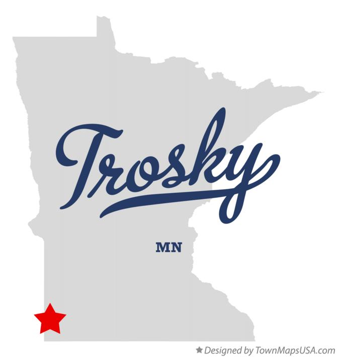 Map of Trosky Minnesota MN
