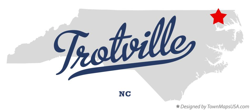 Map of Trotville North Carolina NC