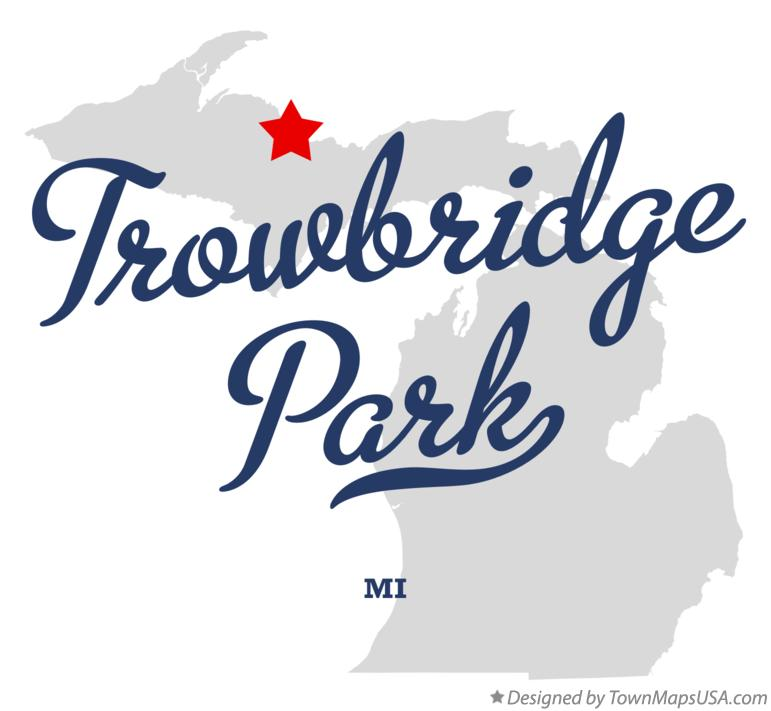 Map of Trowbridge Park Michigan MI