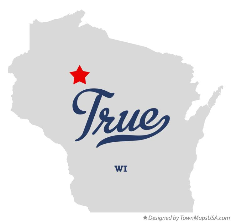 Map of True Wisconsin WI