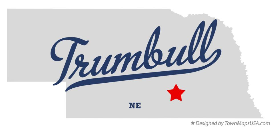Map of Trumbull Nebraska NE