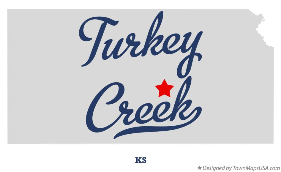 Map of Turkey Creek Kansas KS