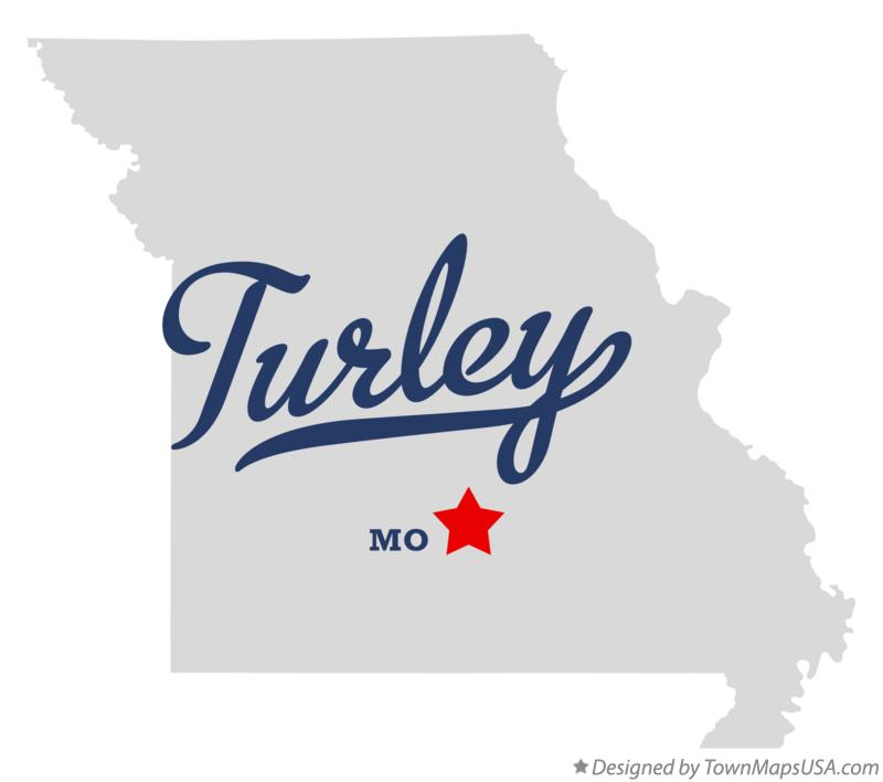 Map of Turley Missouri MO
