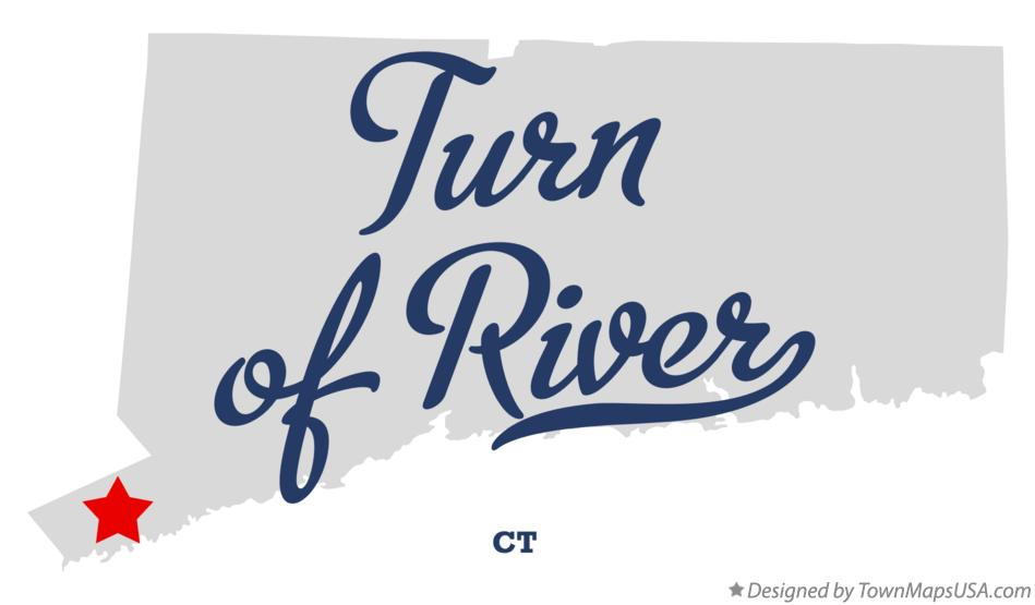 Map of Turn of River Connecticut CT