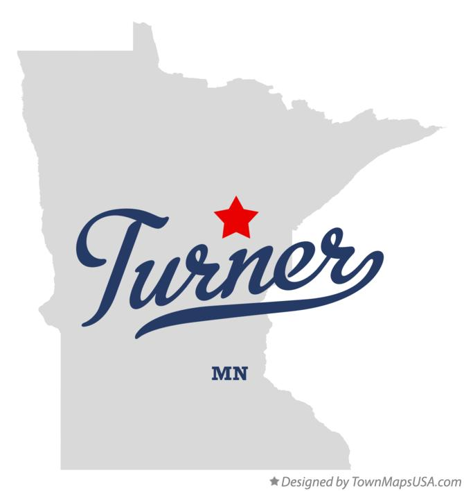 Map of Turner Minnesota MN