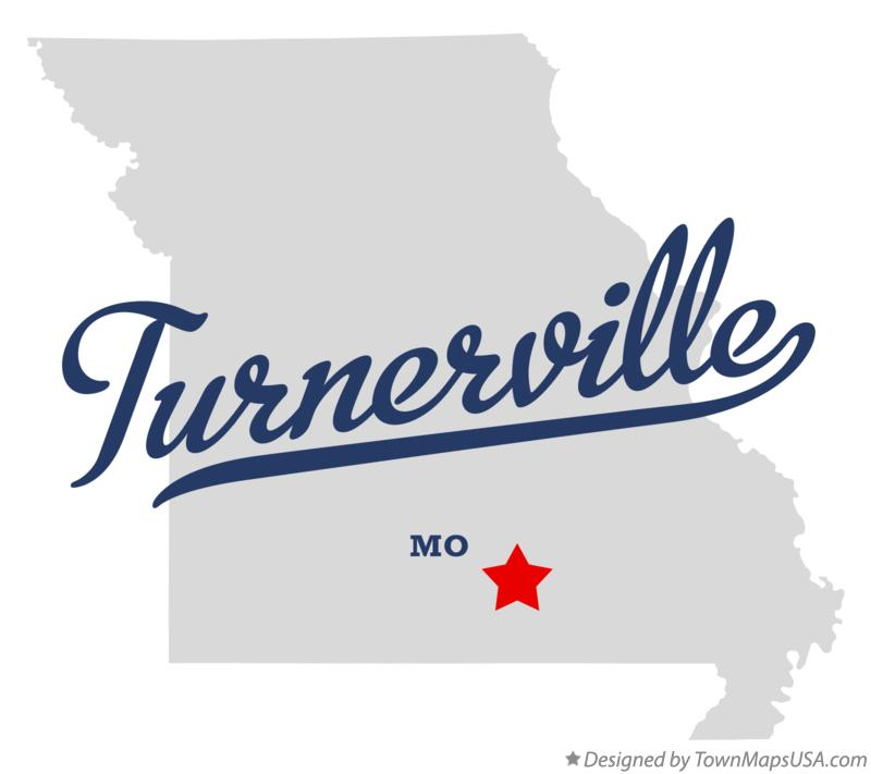 Map of Turnerville Missouri MO