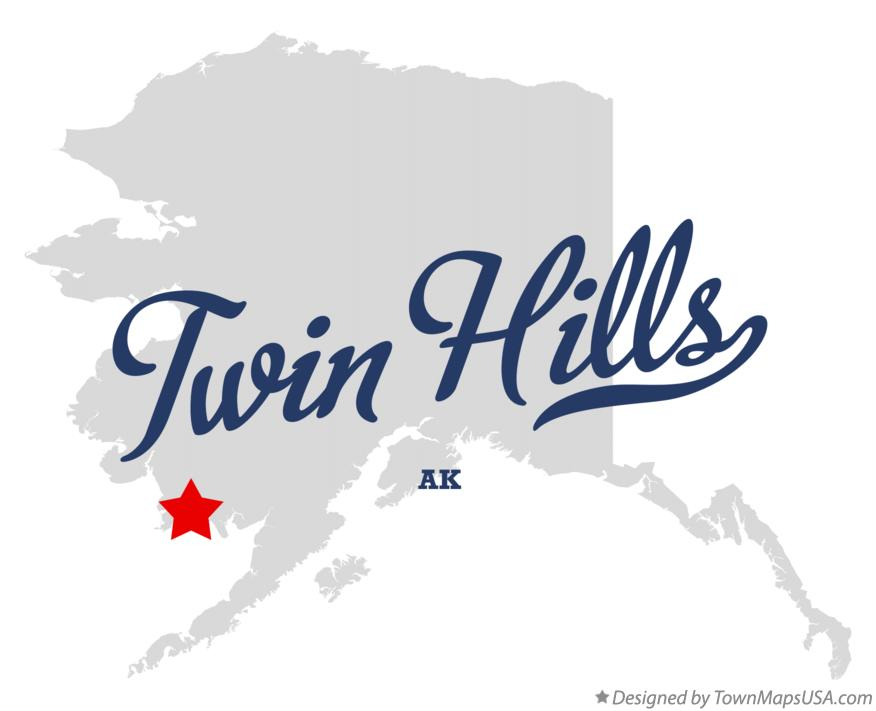 Map of Twin Hills Alaska AK
