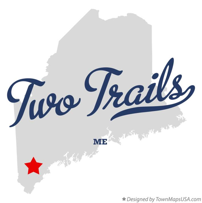 Map of Two Trails Maine ME