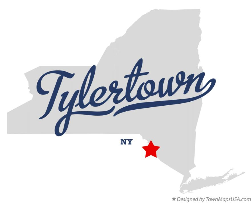 Map of Tylertown New York NY