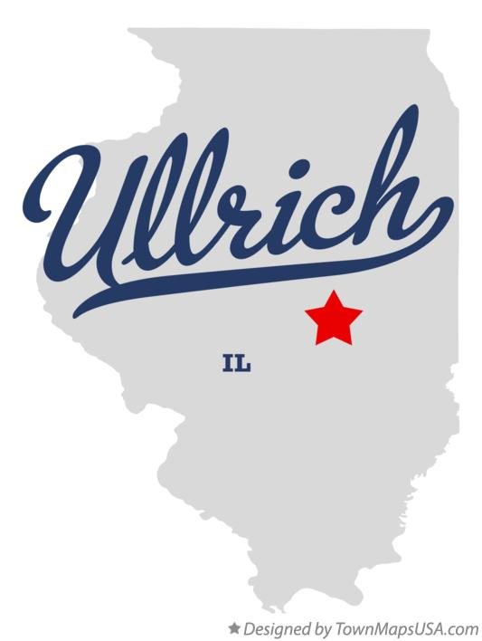 Map of Ullrich Illinois IL