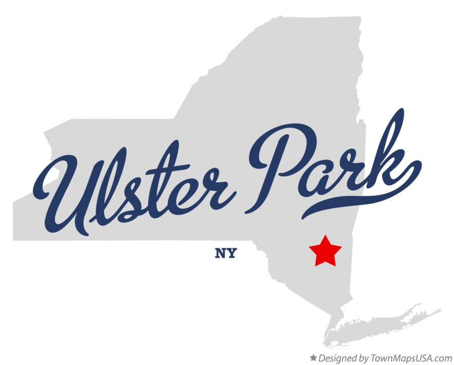 Map of Ulster Park New York NY
