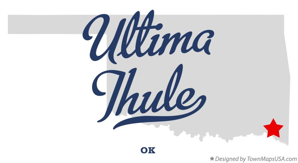 Map of Ultima Thule Oklahoma OK