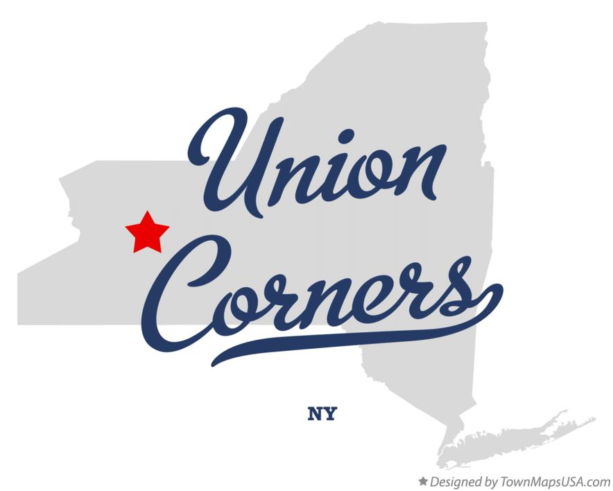 Map of Union Corners New York NY