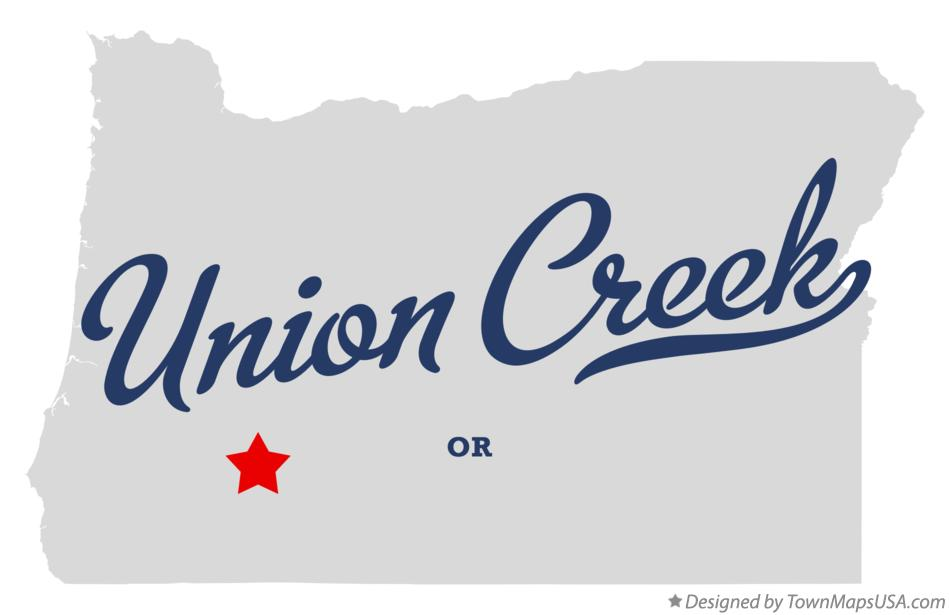 Map of Union Creek Oregon OR