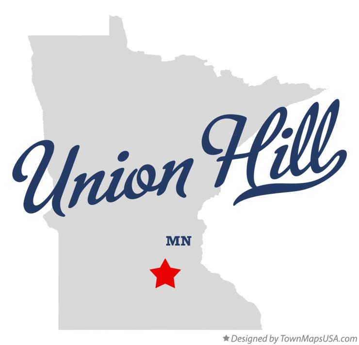 Map of Union Hill Minnesota MN
