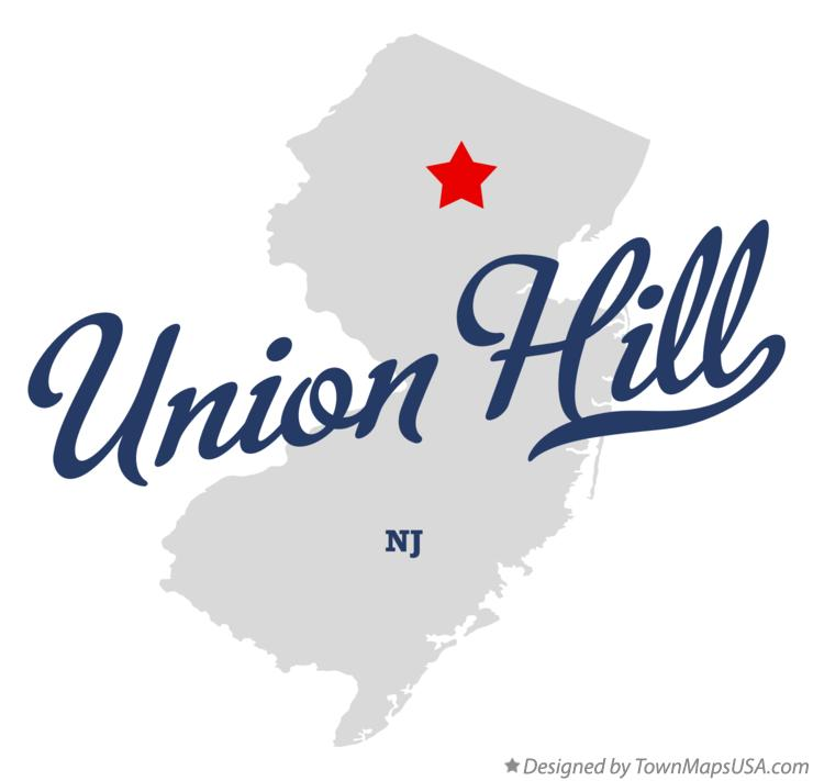Map of Union Hill New Jersey NJ