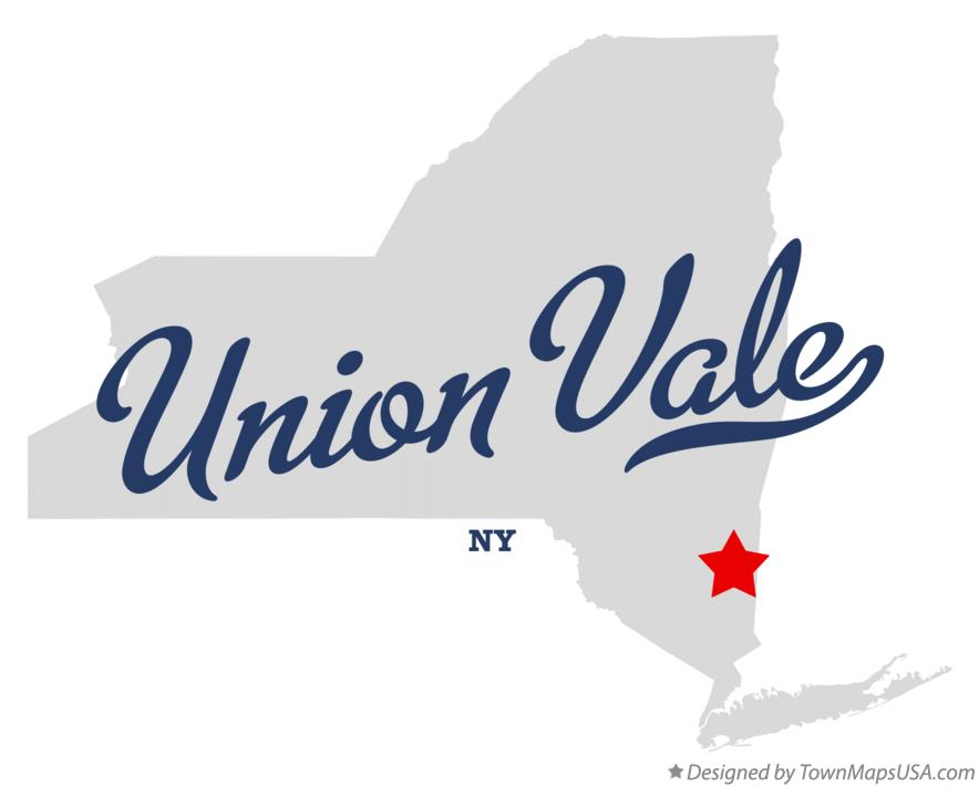 Map of Union Vale New York NY