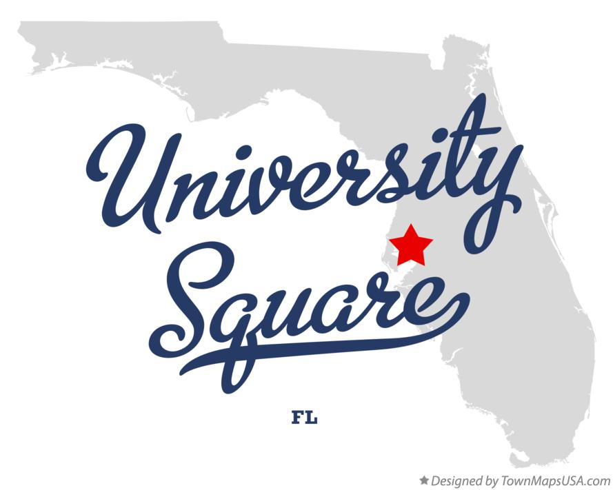 Map of University Square Florida FL