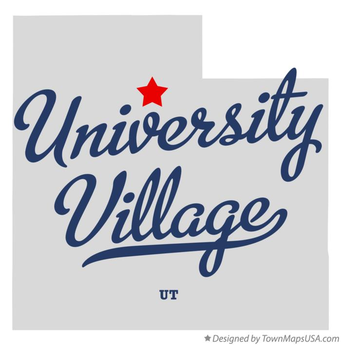Map of University Village Utah UT