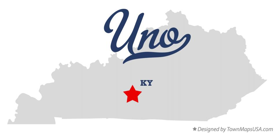 Map of Uno Kentucky KY