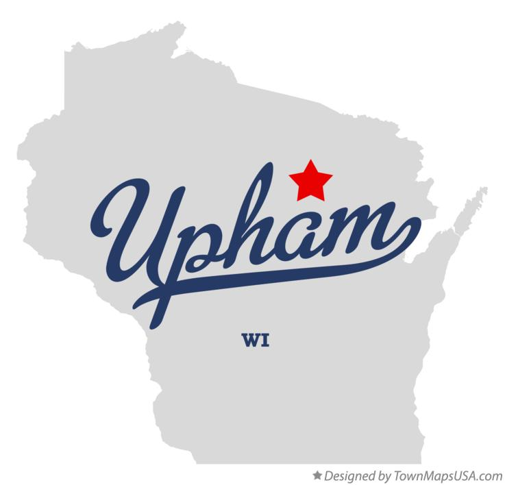 Map of Upham Wisconsin WI