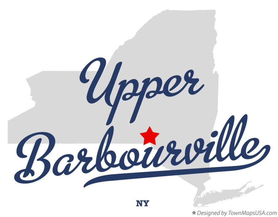 Map of Upper Barbourville New York NY