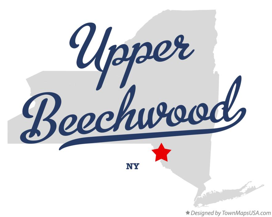 Map of Upper Beechwood New York NY